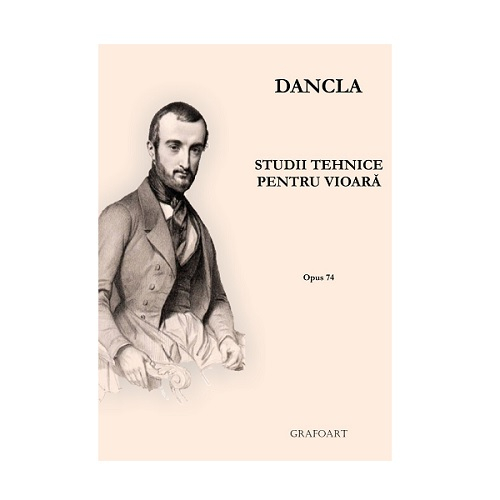 C. Dancla - Studii tehnice pentru vioara op. 74 0