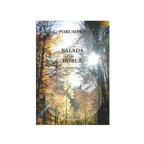 C. Porumbescu - Balada si Dorul pentru violoncel si pian 0