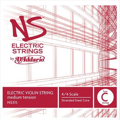 Coarda C D'addario NS Electric vioara 0