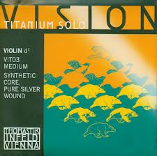 Coarda D Vision Titanium Solo vioara 0