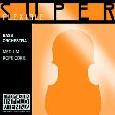 Coarda de contrabas C Superflexible Orchestra, crom 0