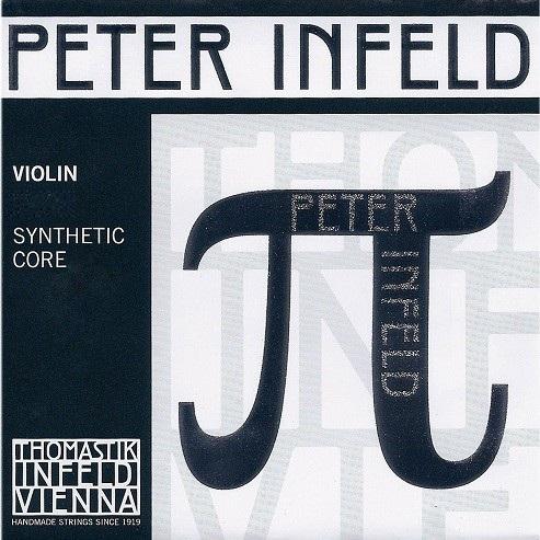 Coarda E Peter Infeld vioara, E staniu 0