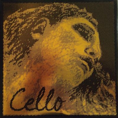 Coarda D Evah Pirazzi Gold violoncel 0