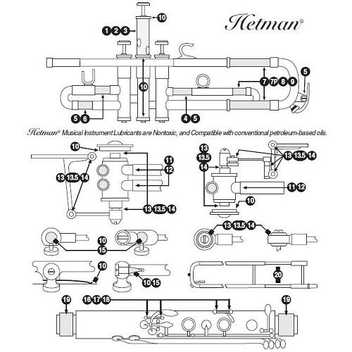 Hetman no. 8 Slide Grease 1