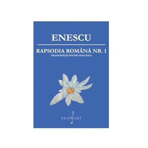 Rapsodia Romania pentru pian - George Enescu 0