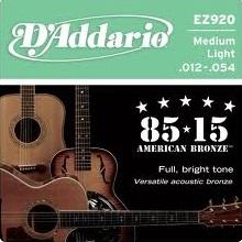 Set corzi chitara acustica D'addario - EZ920 [0]