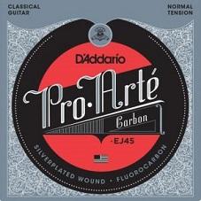 Set corzi chitara clasica D'addario - EJ45 0
