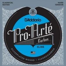 Set corzi chitara clasica D'addario - EJ46 0