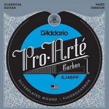 Set corzi chitara clasica D'addario - EJ46FF 0