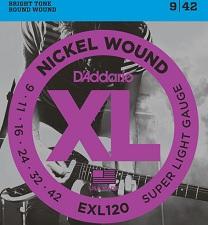 Set corzi chitara electrica D'addario - EXL120 0