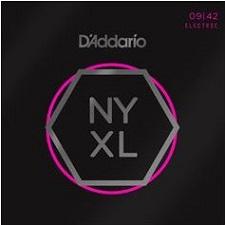 Set corzi chitara electrica D'addario NYXL 009 - 042 0