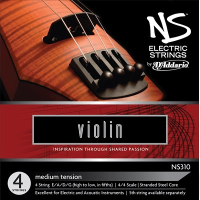 Set corzi D'addario NS Electric vioara [0]