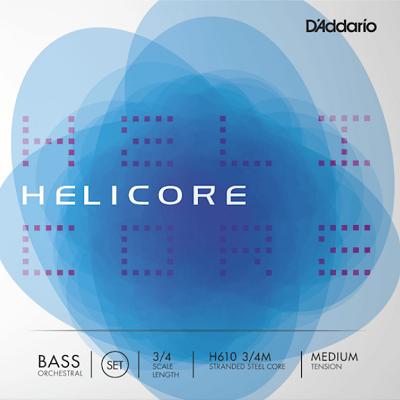 Set corzi D'addario Helicore Orchestral contrabas 3/4 0