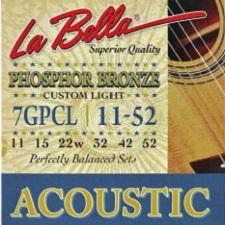 Set corzi La Bella Phosphor Bronze chitara acustica [0]
