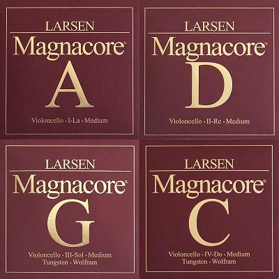 Set corzi Larsen Magnacore violoncel 0