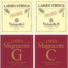 Set corzi Larsen Soloist / Magnacore violoncel 0