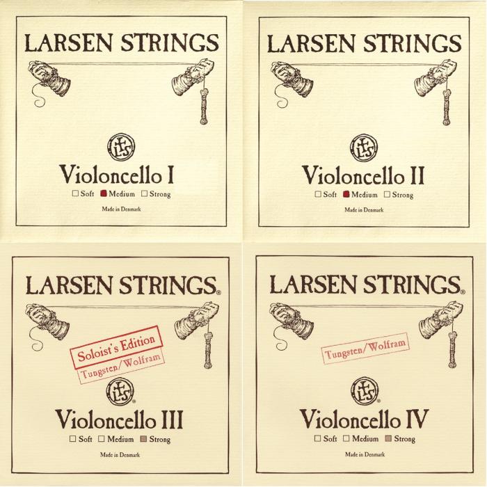 Set corzi Larsen Standard violoncel 0