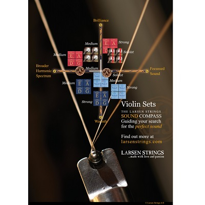 Set corzi Larsen Tzigane vioara 1