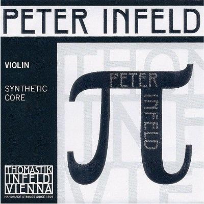 Set corzi Peter Infeld vioara, E platina 0