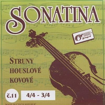Set corzi Sonatina vioara 4/4-3/4 [0]