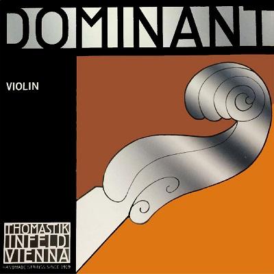Set corzi Dominant E aluminiu, vioara [0]