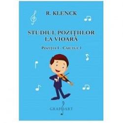 Studiul pozitiilor la vioara - Pozitia I - Caietul I - Klenck 0