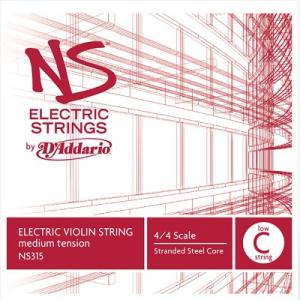 Coarda C D'addario NS Electric vioara [0]