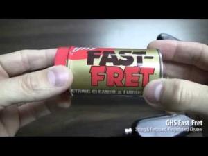 GHS Fast Fret curatare tastiera si corzi1