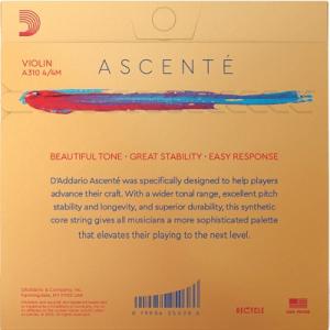 Set corzi D'addario Ascenté vioara1