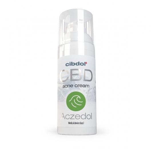 Cibdol - Aczedol (Cremă pentru acnee) - 50ml 1