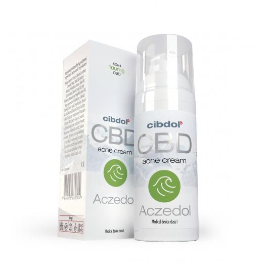 Cibdol - Aczedol (Cremă pentru acnee) - 50ml 0