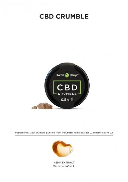 PharmaHemp 90% CBD Crumble - 1gr 2