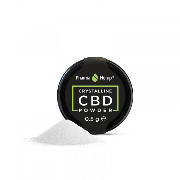 Cristale CBD 'PharmaHemp ' CBD 99,6% - 0,5gr CBD Izolat 1