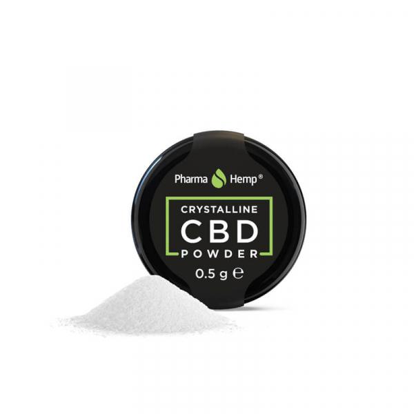 Cristale CBD 'PharmaHemp ' CBD 99,6% - 1gr CBD Izolat [1]