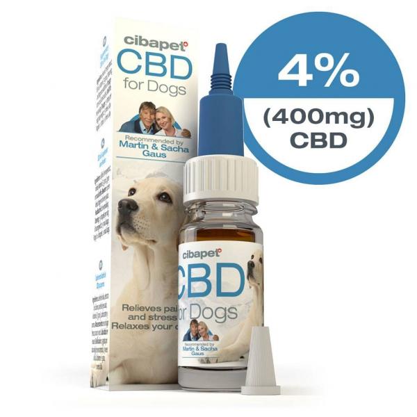 Cibapet 4% ulei CBD pentru câini [0]