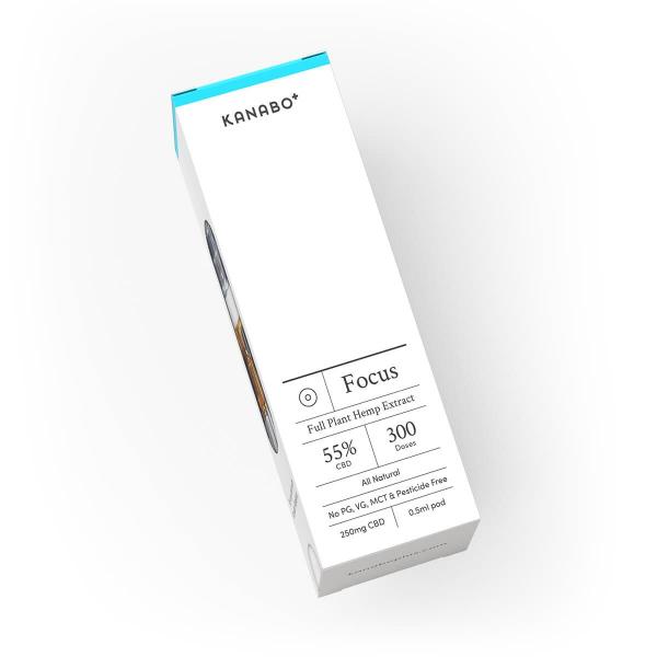 Kanabo Focus 55% CBD 0,5ml Pod Vapepod 1
