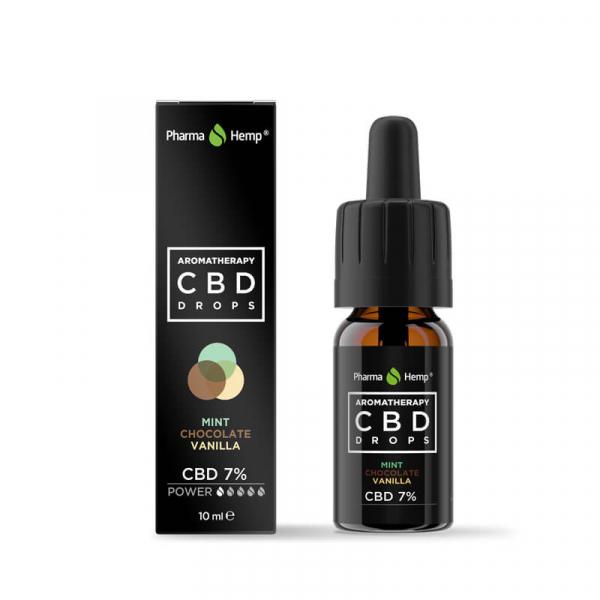 Pharma Hemp - CBD Ulei 'Aromatherapy' - Ciocolată cu mentă și Vanilie - 7% Full Spectrum [0]