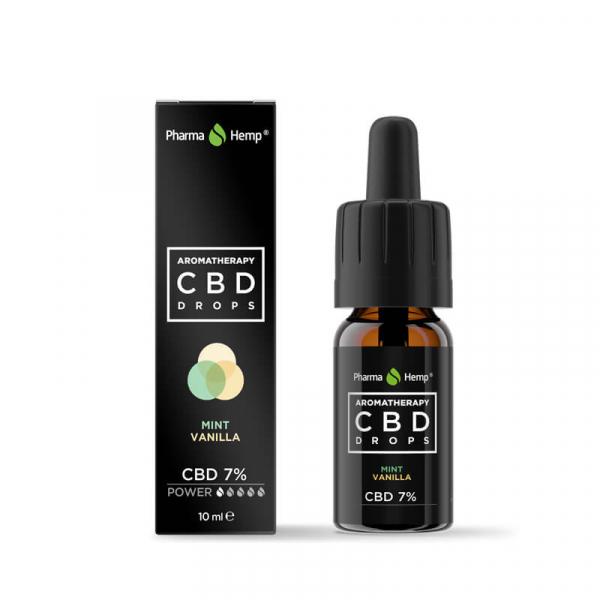 Pharma Hemp - CBD Ulei 'Aromatherapy' Mentă și Vanilie - 7% Full Spectrum [0]