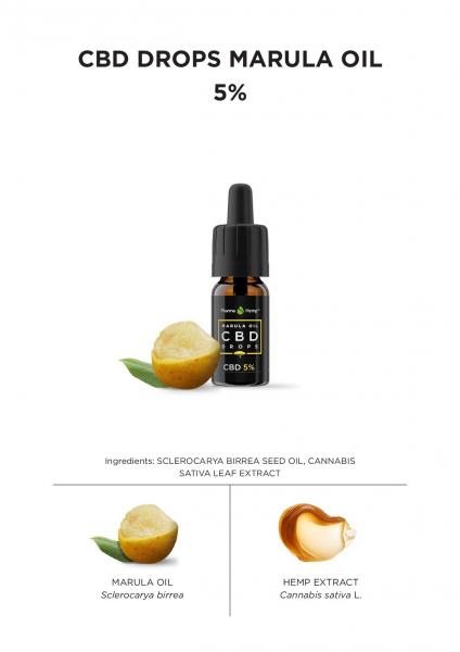 Pharma Hemp - CBD ULEI MARULA 5% Full Spectrum [1]