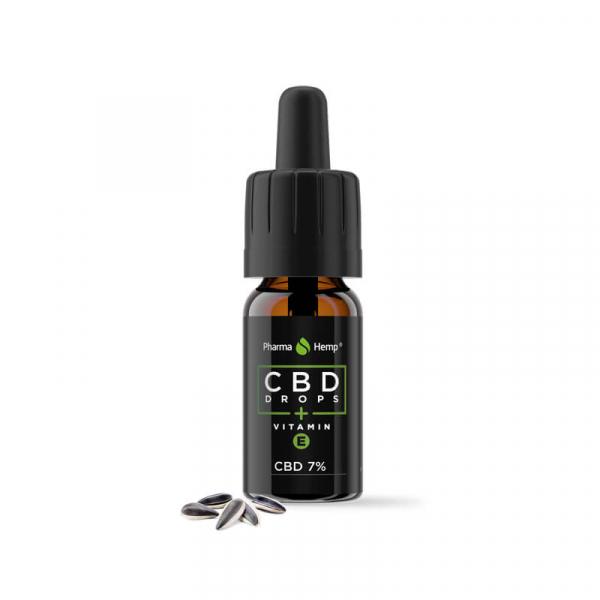 Pharma Hemp - Ulei CBD cu vitamina E - 7% 1