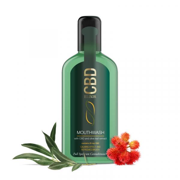 Apa De Gura 'Elixir CBD' 25mg CBD 250ml 1