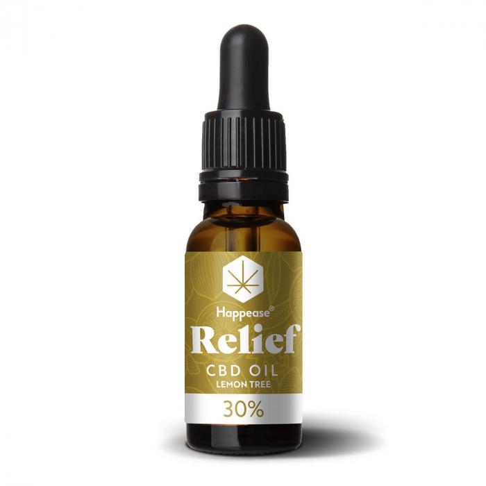 Happease® Relief 30% Ulei CBD Lemon Tree (10ml) [1]