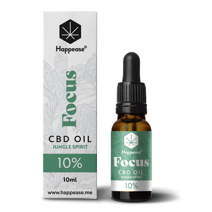 Happease® Focus 10% CBD Jungle Spirit (10ml) 0