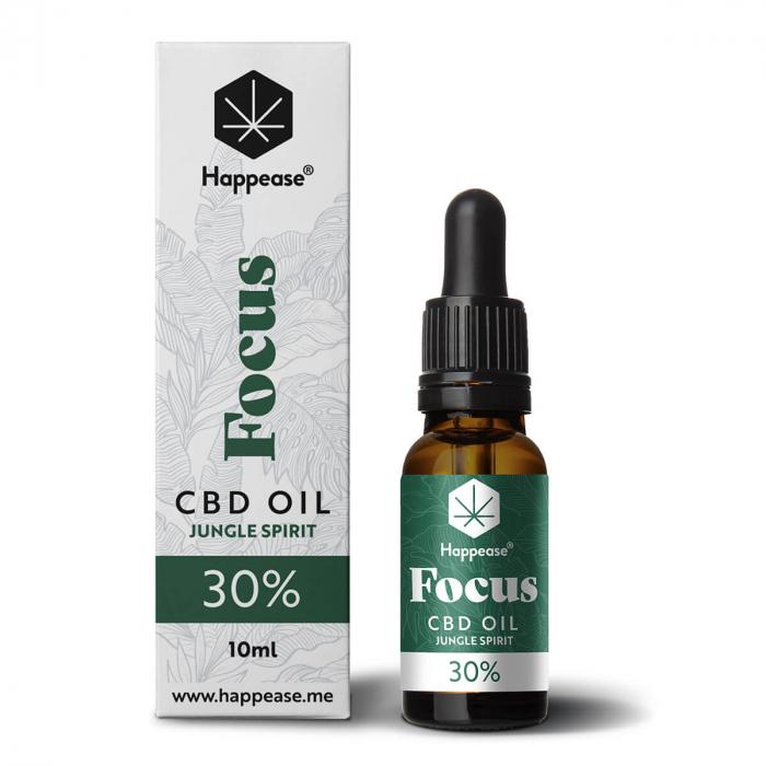 Happease® Focus 30% CBD Jungle Spirit (10ml) [0]