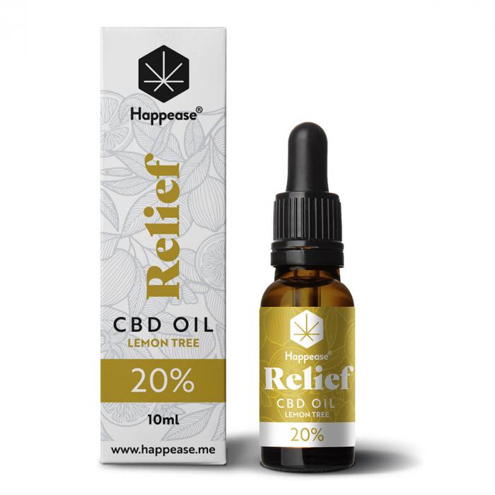 Happease® Relief 20% CBD Lemon Tree (10ml) [0]