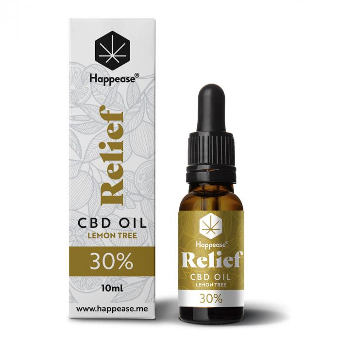 Happease® Relief 30% Ulei CBD Lemon Tree (10ml) [0]