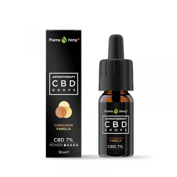 Pharma Hemp - CBD Ulei 'Aromatherapy' Vanilie și Scorțișoară - 7% Full Spectrum [0]