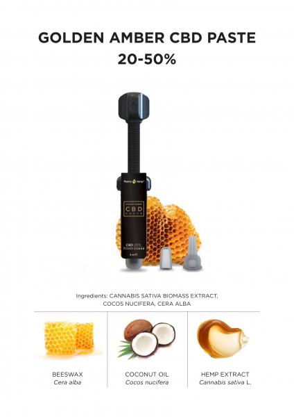 Pharma Hemp - Extract CBD 'Golden Amber' - 50% Full Spectrum [2]