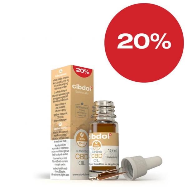 Cibdol - Ulei din semințe de cânepă cu CBD 20% [1]