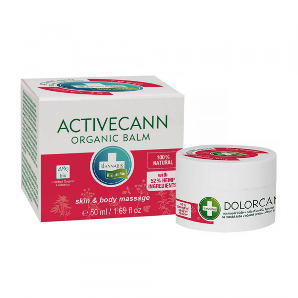 Annabis - 'Dolorcann' Balsam organic de cânepă pentru masaj - 50 ml 0